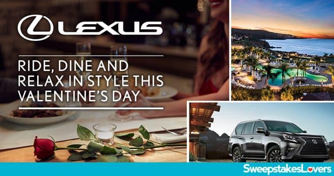 Lexus Valentine's Sweepstakes 2020