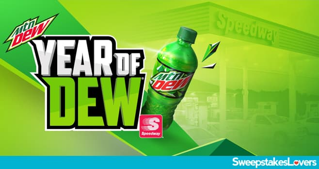 Mountain Dew Year Of Dew Sweepstakes 2020