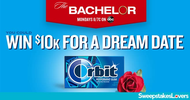 ORBIT Gum Dream Date Sweepstakes 2021