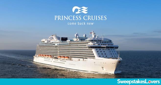 Princess Cruises Set Sail Together Sweepstakes 2020