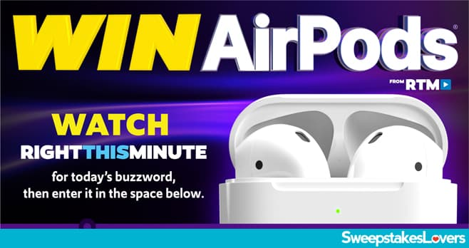 Right This Minute AirPods Contest 2020