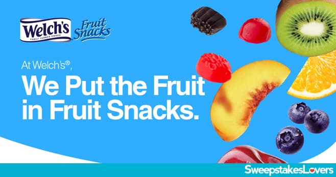 Welch's Fruit Snacks Lunchbox Notes Contest 2020