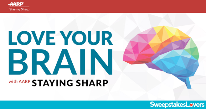 AARP Love Your Brain Sweepstakes 2020