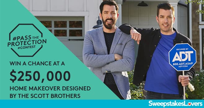 ADT Home Security Property Brothers Contest 2020