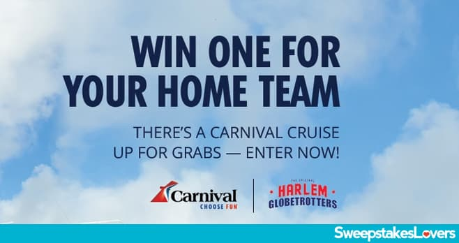 Carnival Globetrotters Sweepstakes 2020