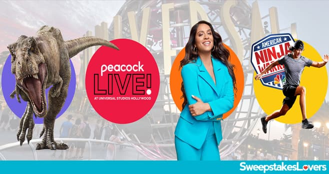 Comcast Peacock Live at Universal Studios Hollywood Sweepstakes 2020