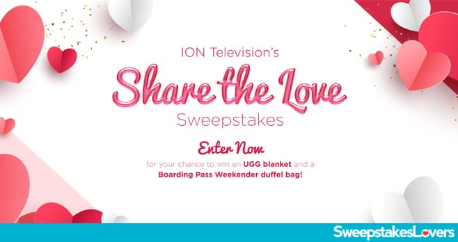 Ion Television Share The Love Sweepstakes 2020