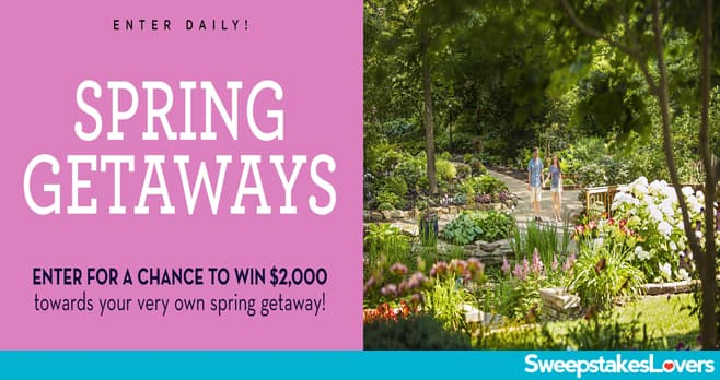 Midwest Living Spring Getaways Sweepstakes 2020
