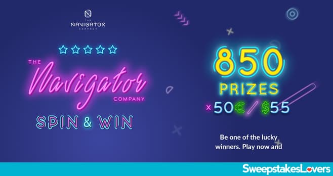 Navigator Spin & Win Sweepstakes 2020
