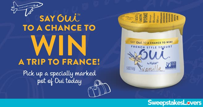 Say Oui Yogurt Sweepstakes 2020