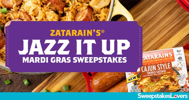 Zatarain's Jazz It Up Sweepstakes 2020