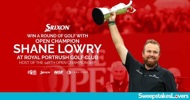 Golfballs.com Shane Lowry Sweepstakes 2020