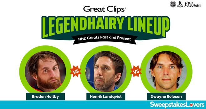 Great Clips Legendhairy Lineup Sweepstakes 2020