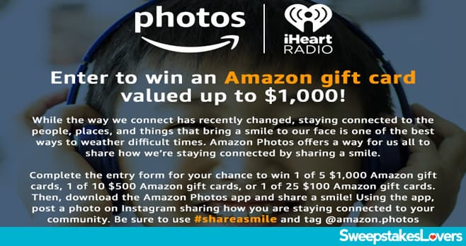 iHeart Radio Share a Smile Contest 2020