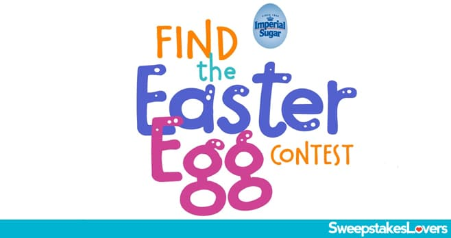 Imperial Sugar Find the Easter Egg Contest 2020