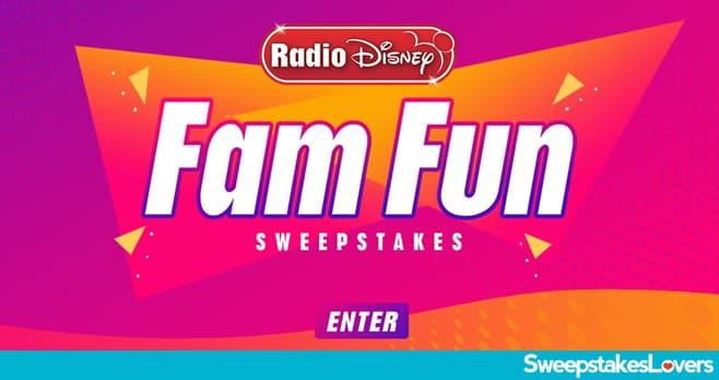 Radio Disney Fam Fun Sweepstakes 2020