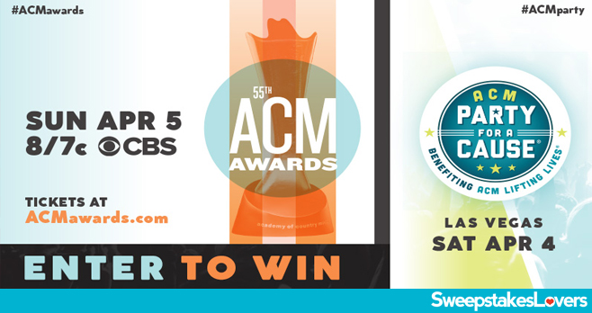SiriusXM ACM Awards Sweepstakes 2020