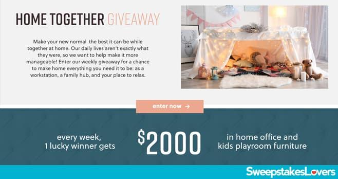 Ashley HomeStore Home Together Giveaway 2020