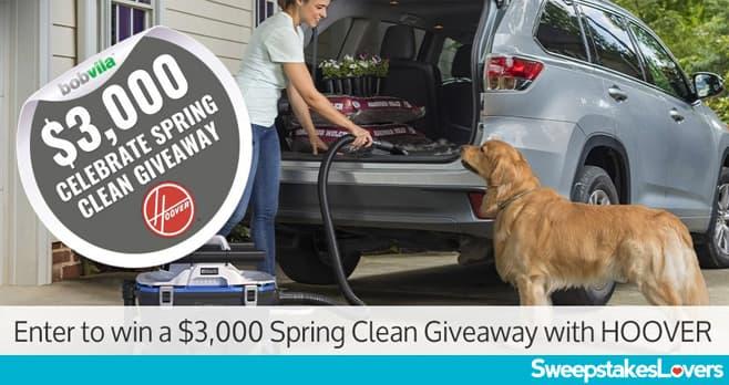 Bob Vila $3,000 Celebrate Spring Clean Sweepstakes 2020
