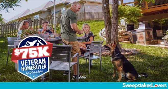 Realtor.com $75K Veteran Homebuyer Sweepstakes 2020