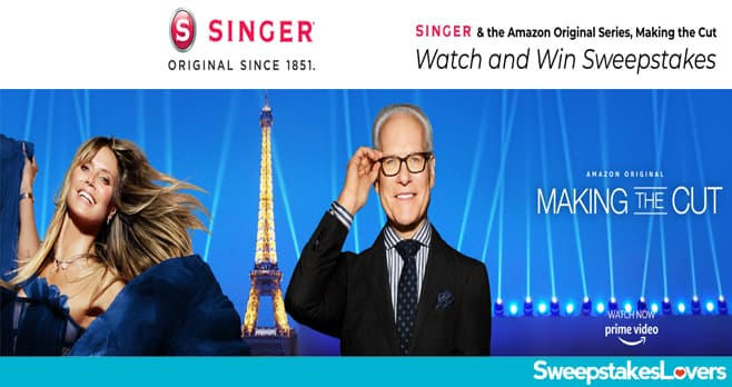 Singer Making The Cut Amazon Giveaway 2020
