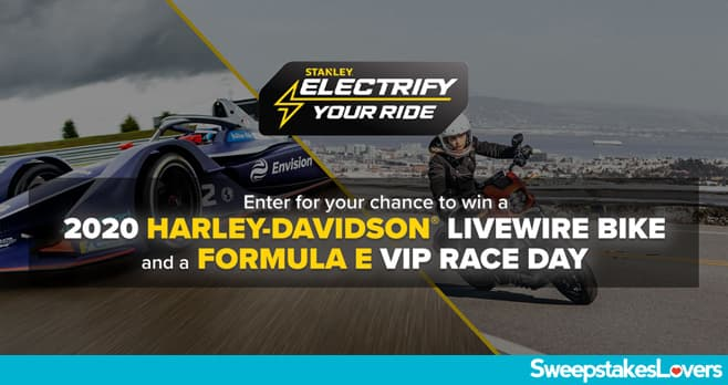 STANLEY Electrify Your Ride Sweepstakes 2020