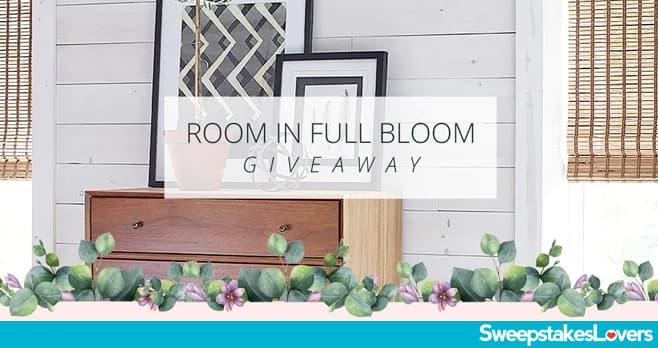 Blinds.com Room in Full Bloom Giveaway 2020
