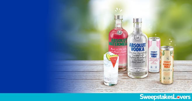 Absolut Summer Sweepstakes 2021