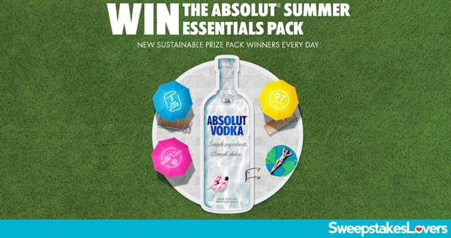 Absolut Summer Sweepstakes 2020