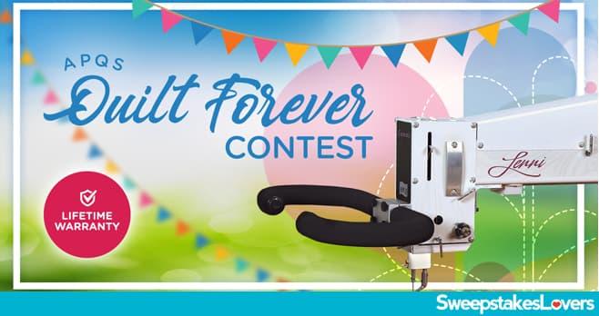 APQS Quilt Forever Contest 2020