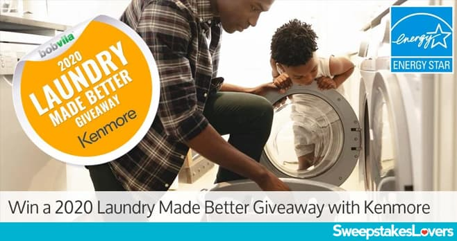 Bob Vila Laundry Made Better Giveaway 2020