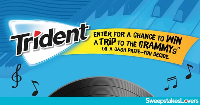 Trident Chew Tunes Sweepstakes and Instant Win 2020