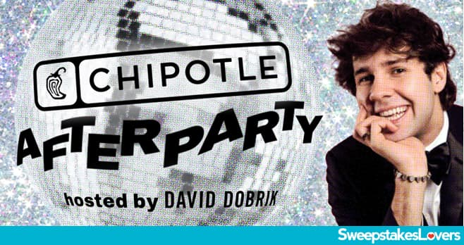 Chipotle Afterparty Sweepstakes 2020