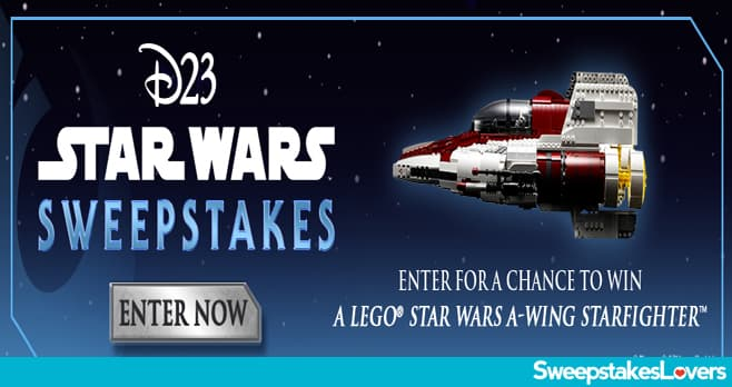 Disney D23 Star Wars Sweepstakes 2020