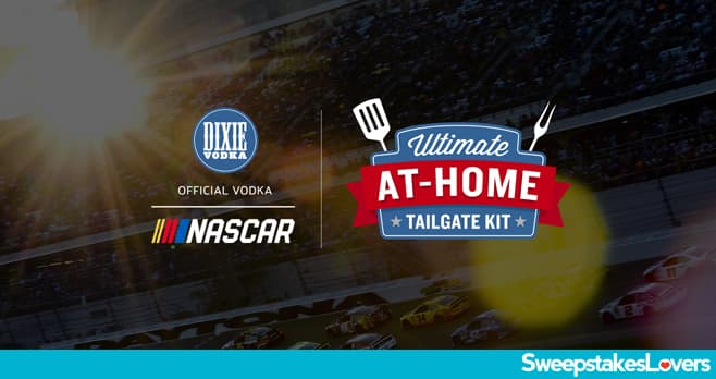 Dixie Vodka Ultimate At-Home Tailgate Package Sweepstakes 2020