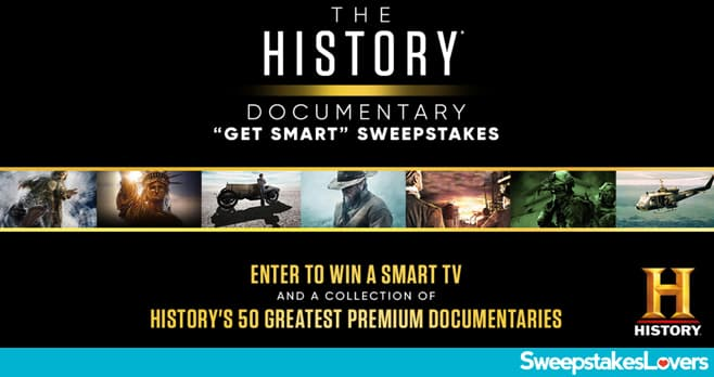 History Channel Documentary Get Smart Sweepstakes 2020