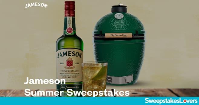 Jameson Summer Sweepstakes 2020