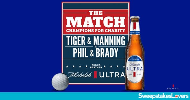 Michelob ULTRA The Match Sweepstakes 2020