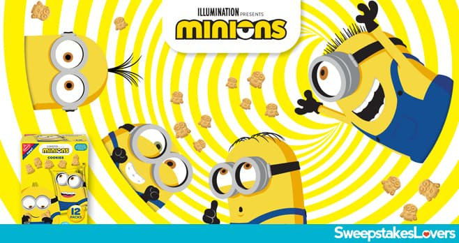 Nabisco Minions Sweepstakes and Instant Win 2020