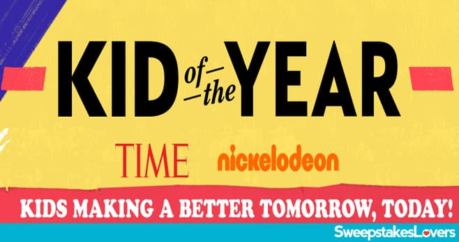 Nick Kid of the Year Award 2020 Sweepstakes