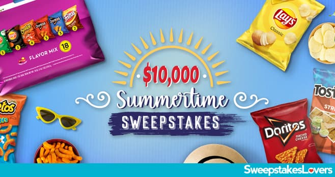 Tasty Rewards Summertime Sweepstakes 2020