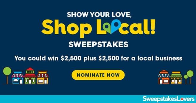 Valpak Shop Local Sweepstakes 2020