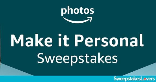 Amazon Photos Device Personalization Sweepstakes 2020