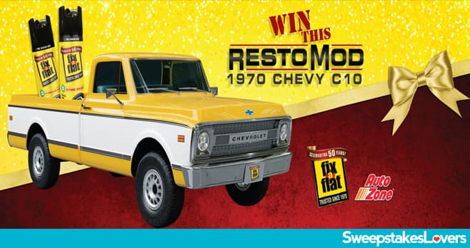 AutoZone Fix-a-Flat 1970 Chevy C10 Sweepstakes 2020