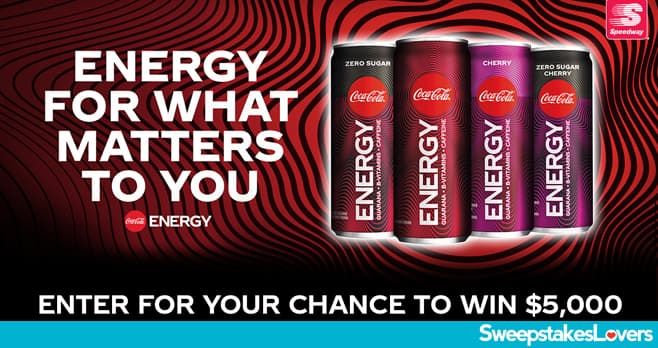 Coke Energy For What Matters to You Sweepstakes 2020