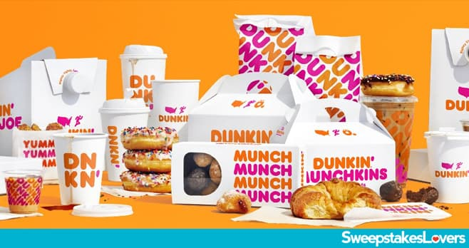Dunkin' National Donut Day Sweepstakes 2020