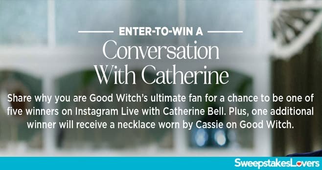 Hallmark Channel Conversation with Catherine Bell Sweepstakes 2020
