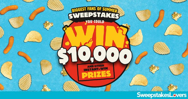 Herr's Biggest Fans of Summer Instant Win & Sweepstakes 2020