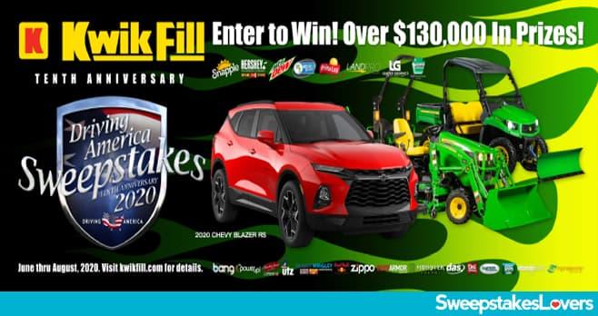 Kwik Fill Driving America Sweepstakes 2020