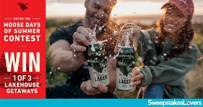 Moosehead Beer Moose Days of Summer Sweepstakes 2020